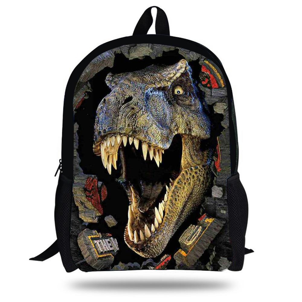 16-Inch Fashion Cute Animal Backpacks For School Kids Dinosaur Backpack For  Boys Girls Birthday 1b41d3a9e1f7f