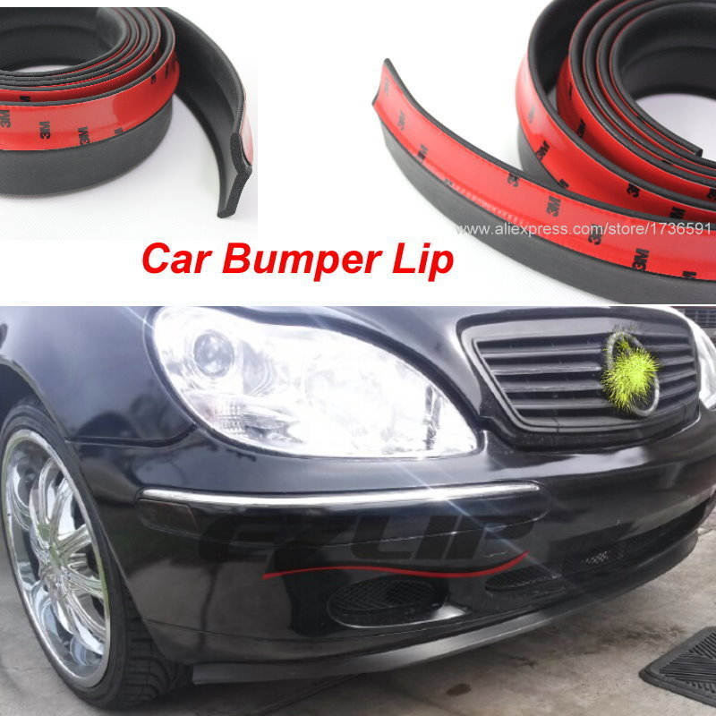 Auto Car Front Lip Deflector Lips Skirt For Mercedes <font><b>Benz</b></font> C E S CLS CLK CLA <font><b>SLK</b></font> R170 R171 <font><b>R172</b></font> W203 W210 W211 W204 A200 A180 image