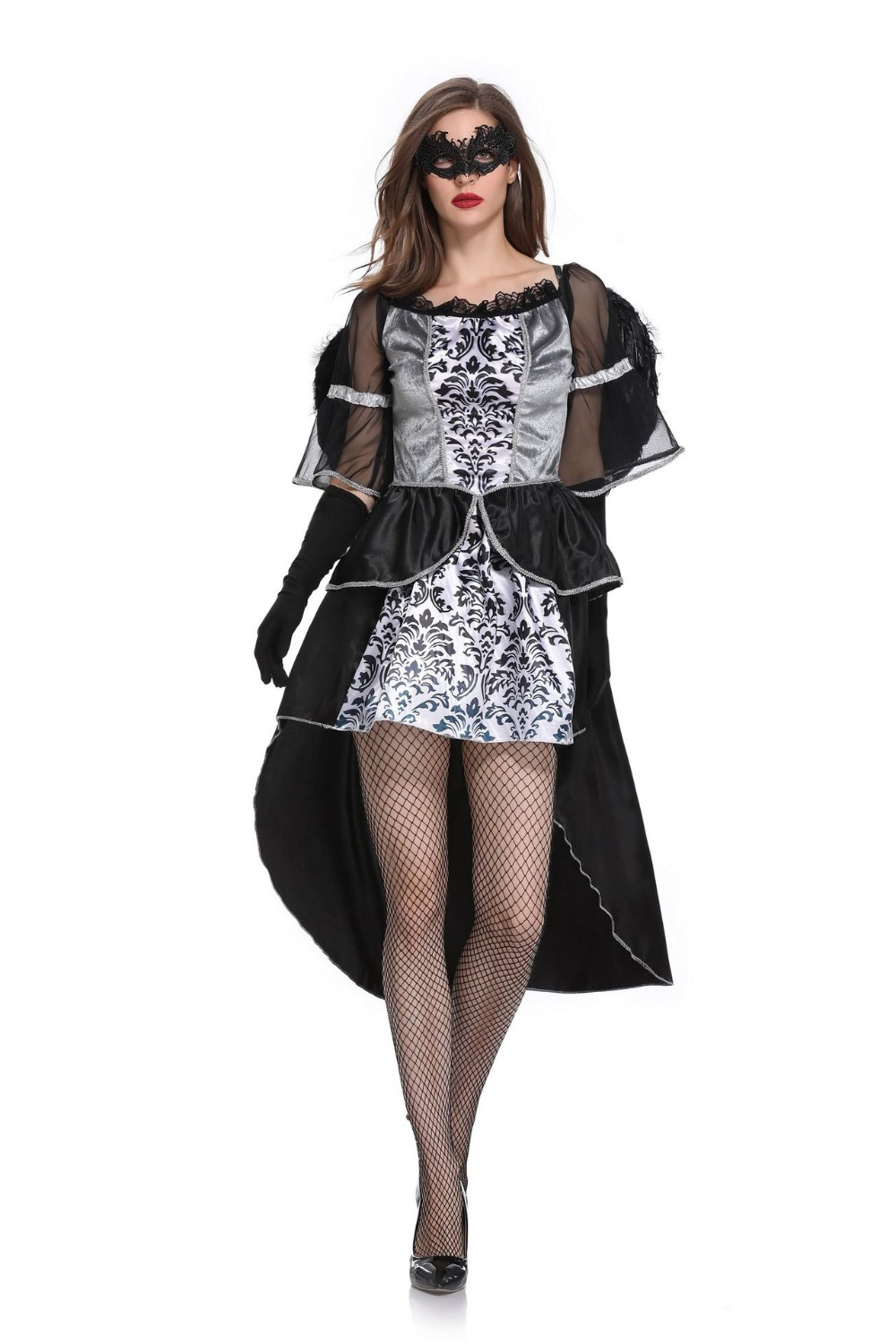 Sexy Lace Iregular Dress Ghost Bride Evil Angel Cosplay Costume Halloween Costumes For Women In Holidays Costumes From Novelty Special Use On