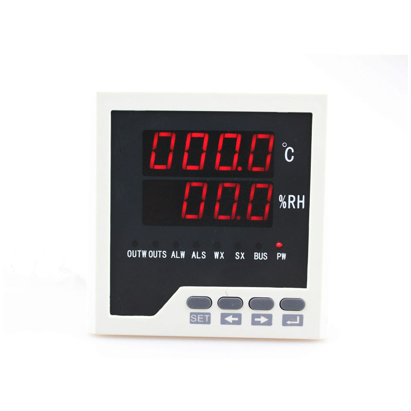 WSK302 LED Digital display frame size 72*72mm Temperature and humidity Controller with sensor