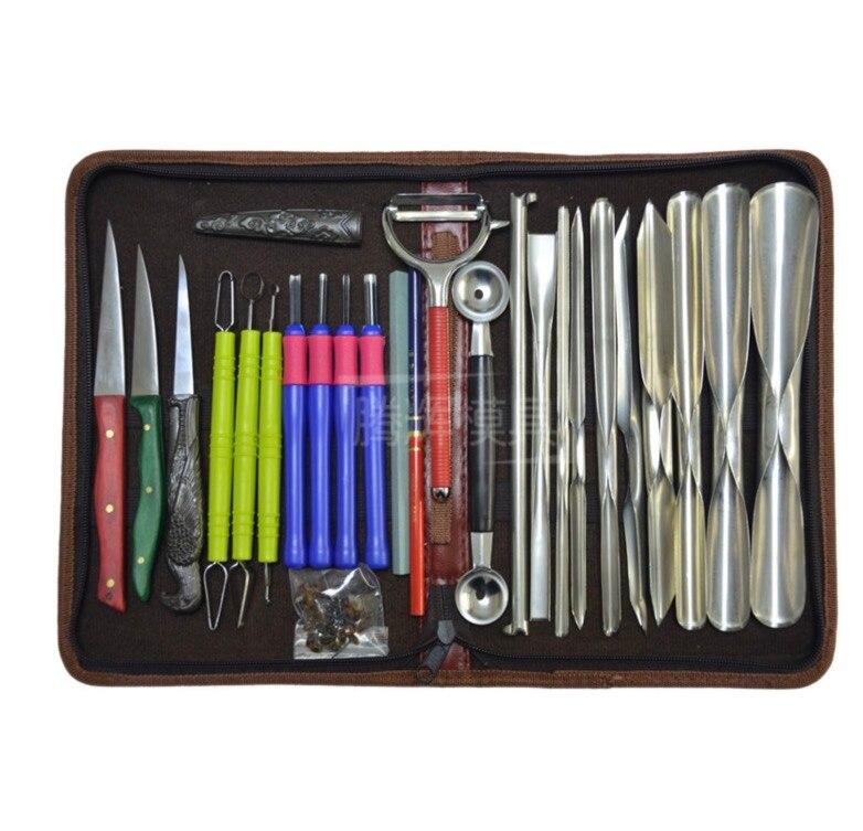 1 SET di Frutta e verdura carving set di coltelli incisione professionale tool set-in Set gadget da cucina da Casa e giardino su  Gruppo 1
