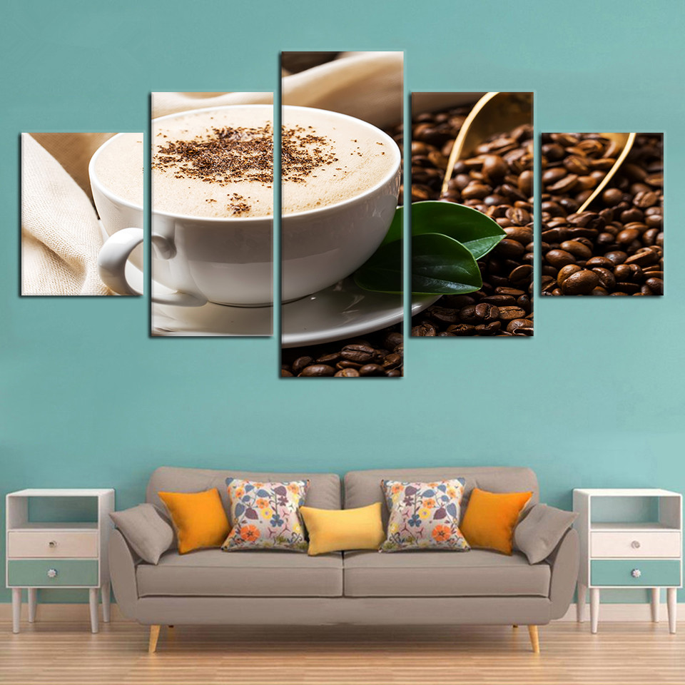 Modern-Pictures-Modular-Drinks-Canvas-Poster-5-Pieces-Coffee-Grain-Cup-Framed-Painting-HD-Printing-Decor (3)