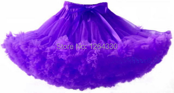 In stock Noble purple pettiskirts Hot sale new design baby pettiskirt in set party girl PETS-019