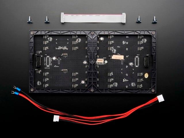 Бесплатная доставка DIY светодиодный дисплей наборы 10 шт. P5 крытый SMD Полноцветный Светодиодный Модуль (320*160 мм) + RGB контроллер + питание