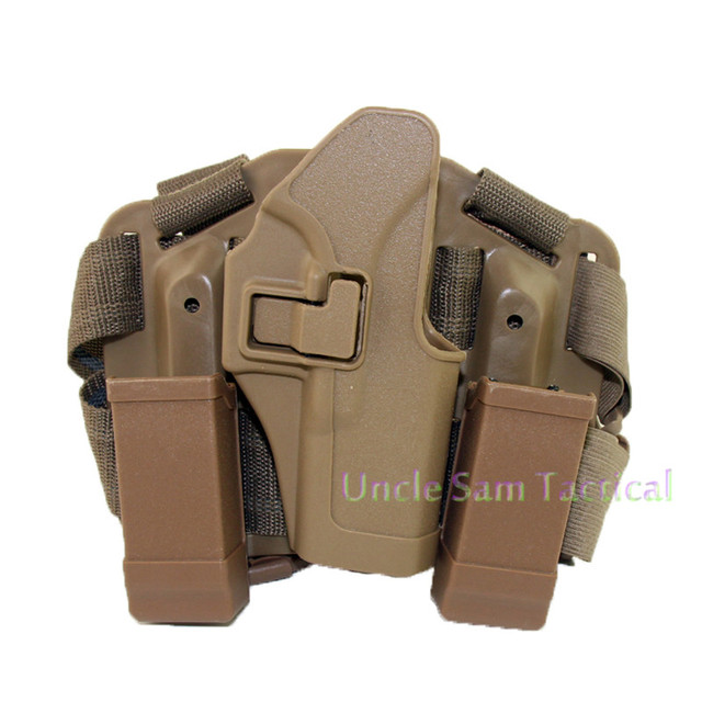 Tactical CQC Glock Leg Holster Military Combat Thigh Holster Hunting Shooting Gun Holsters For Glock 17 19 22 23 31 32 5
