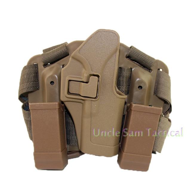 Tactical CQC Glock Leg Holster Military Combat Thigh Holster Hunting Shooting Gun Holsters For Glock 17 19 22 23 31 32 5