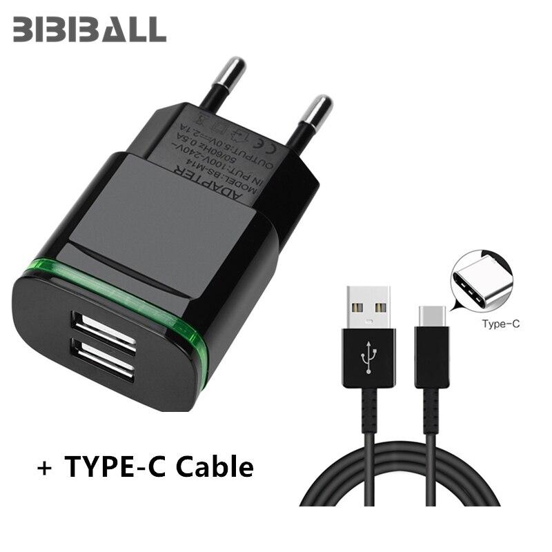 USB C 3,1 Fast Зарядное устройство кабель + 5 В 2.1A светодиодный адаптер для lenovo Yoga Tab 3 Plus 10,1 Tablet honor 9 V9 играть <font><b>V10</b></font> V8 Honor 8 9 Magic