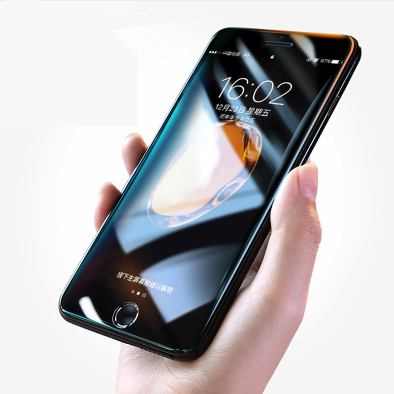 Full Cover Tempered Glass For iPhone 7 8 6 6S 5S 5 S SE
