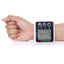 New Health Care Germany Chip Automatic Wrist Digital Blood Pressure Monitor Tonometer Meter for Measuring And Pulse Rate JZK-002