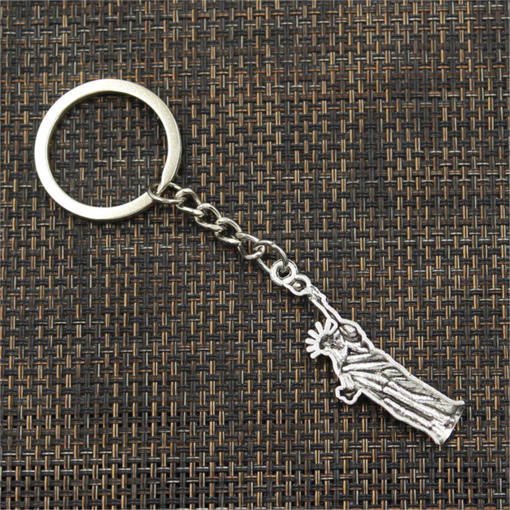 neue Art und Weisemänner 30mm keychain DIY Metallhalterkette - Modeschmuck - Foto 6