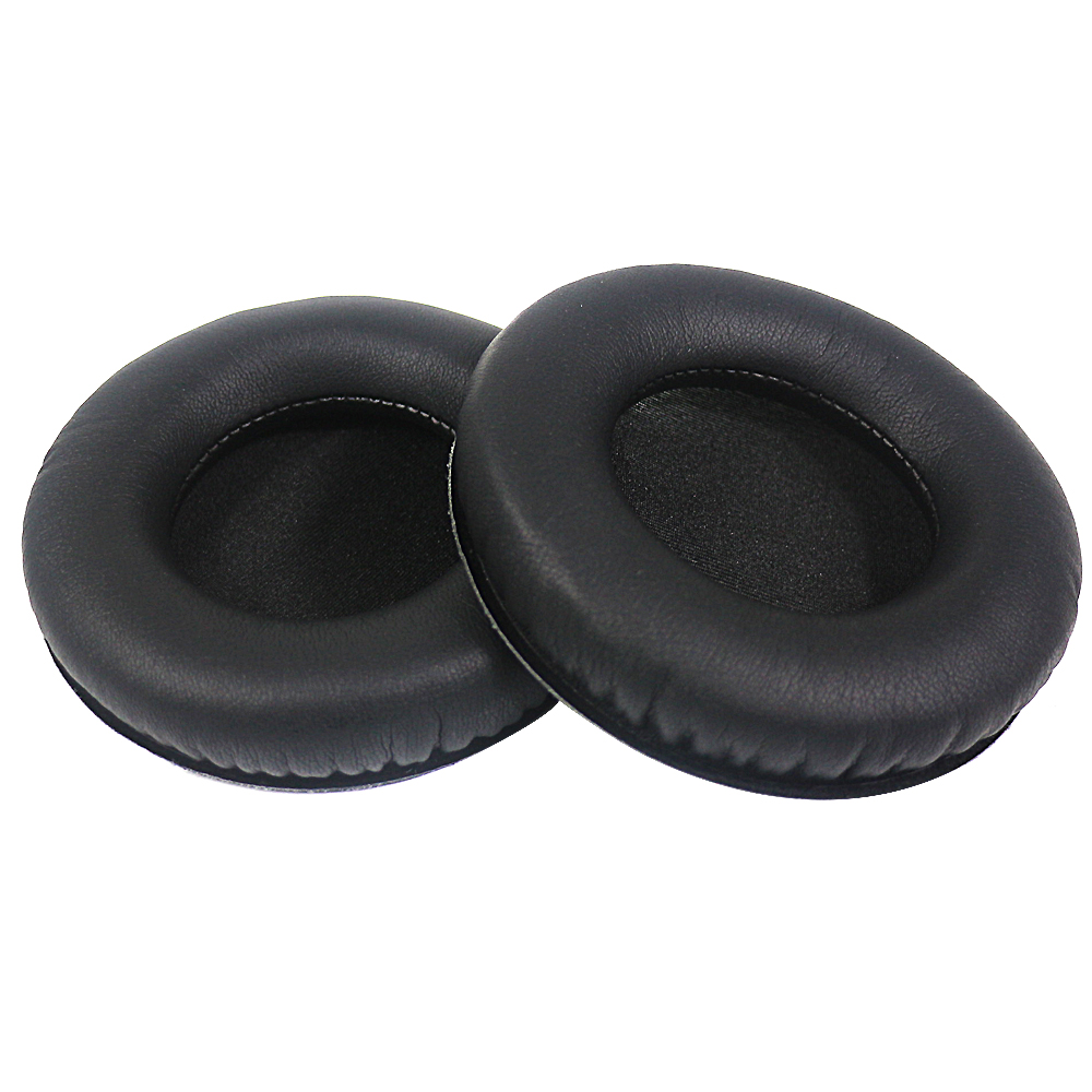 New Protein Leather Cushions Ear Pads Diameter 98MM Replacement Earpads For Steelseries Siberia 200 V2 Headset Headphones Black replacement ear pads for sennheiser hd545 hd565 hd580 hd600 hd650 with ear cup