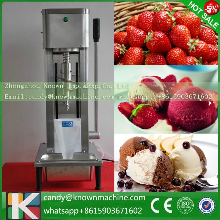 gelato fruit nuts mixer, ice cream plant machinery fruit ice cream feeder from factory selling gelato fruit nuts mixer