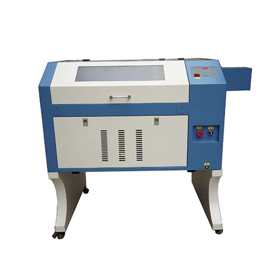 Free Shipping Laser Cutter TS4060 Laser Engraver For Rubber Stamps Engraving 60W 400*600mm