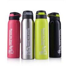все цены на 500ML Thermo Mug Stainless Steel Vacuum Flasks Sport Insulation Cup Coffee Tea Straw Thermos Car Cups Drinkware Termos