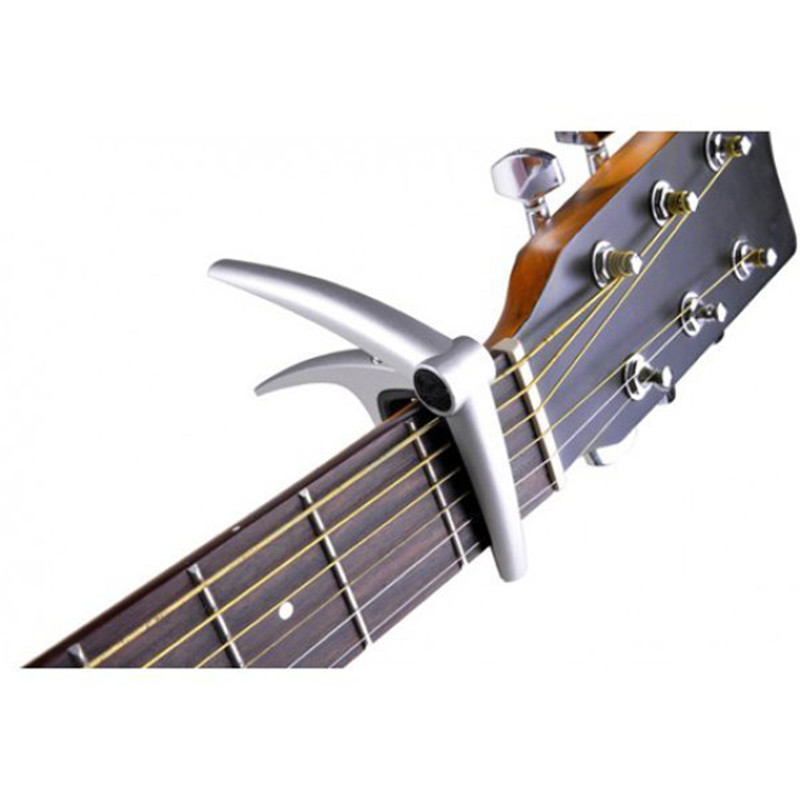 Guitar Capo Guitarra Capotraste Made of Aluminum Alloy Life-Time Warranty Strong Spring for 6-String Acoustic Electric Guitar alice brand capo for acoustic classical electric guitar fine tune style high quality aluminum alloy guitarra capos a007j