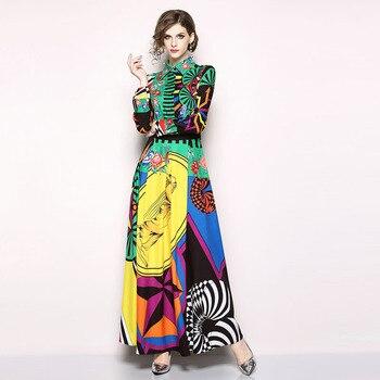 85b5c9841 Vintage Indie Folk delgado vestido de piso-longitud vestido de mujer  elegante