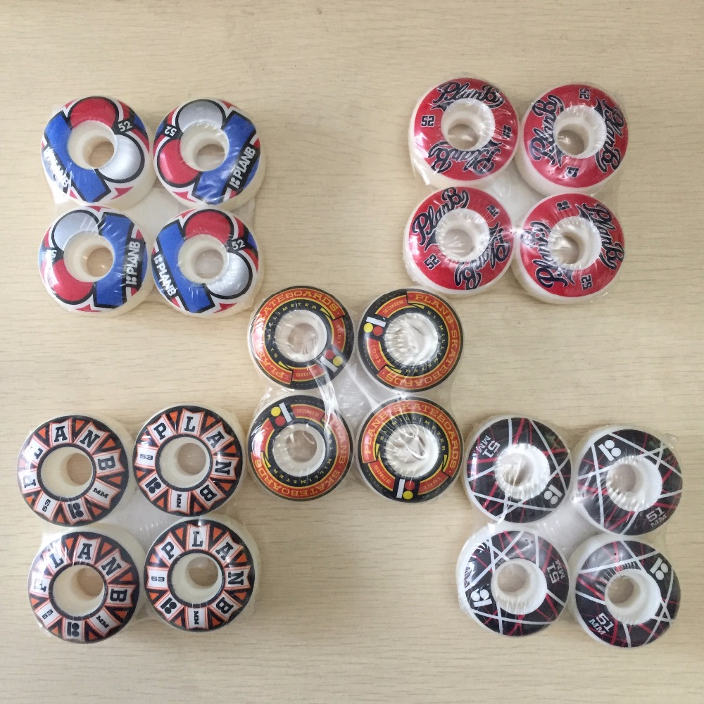 TOY MACHINE BLAST Graphics Skateboard Wheels 52mm Orange/Red/Purple PU Skate Board Wheels