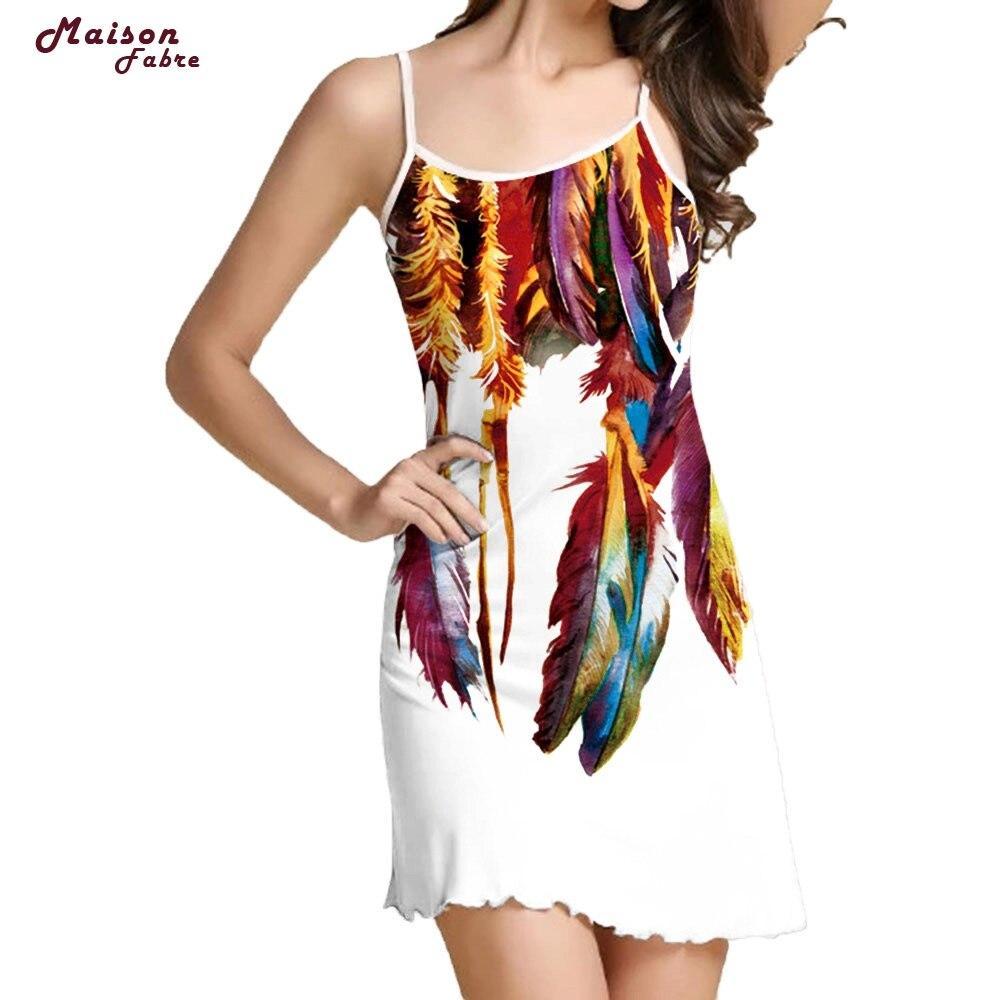 Maison Fabre Womens Print Sleeveless Camisole Casual Bench Mini Dress F28