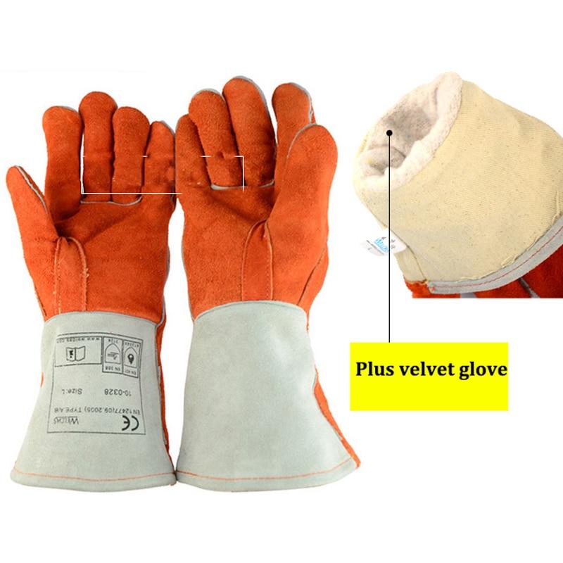 Kalınlaşmak Deri Anti-ısırık eldiven taktik hayvan eğitimi - Güvenlik ve Koruma - Fotoğraf 2
