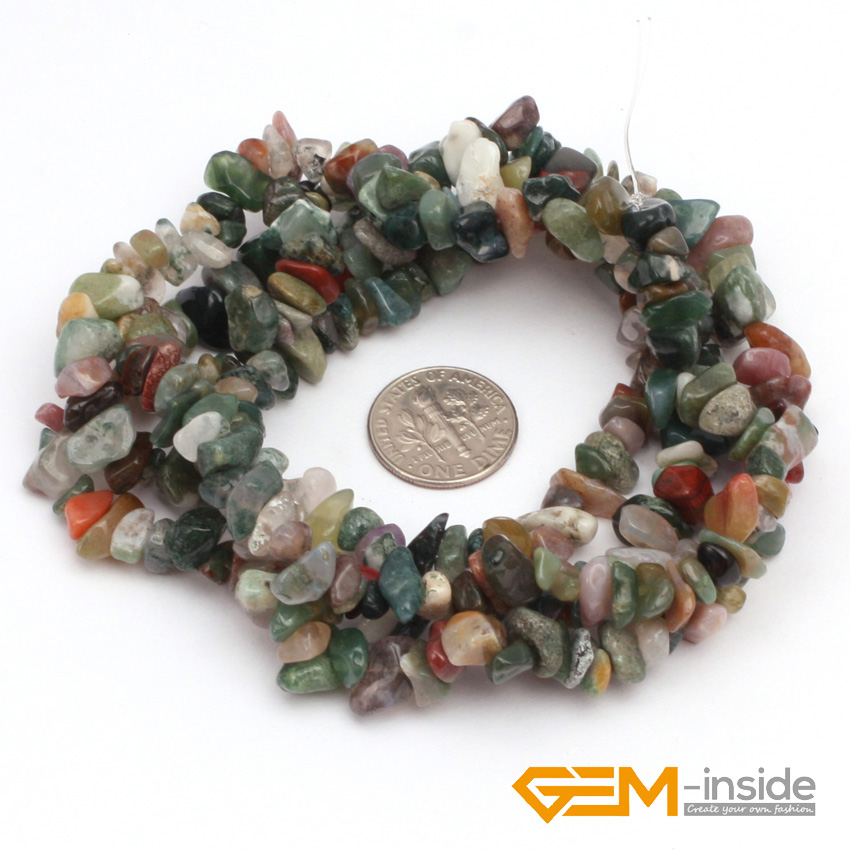 Red Natural Stones : מוצר chips shape natural stone beads red carnelian