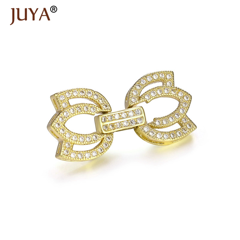 Jewelry Findings Accessories Fit For Hand Made DIY Multi-Strand Pearl Necklace Bracelet Making Jewelry Clasps Connectors Charms