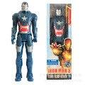 """Filme de Super Heróis Homem De Ferro 3 Ferro Patriot PVC Action Figure Model Collection Toy Presentes de Natal 12 """"30 cm Frete Grátis"""