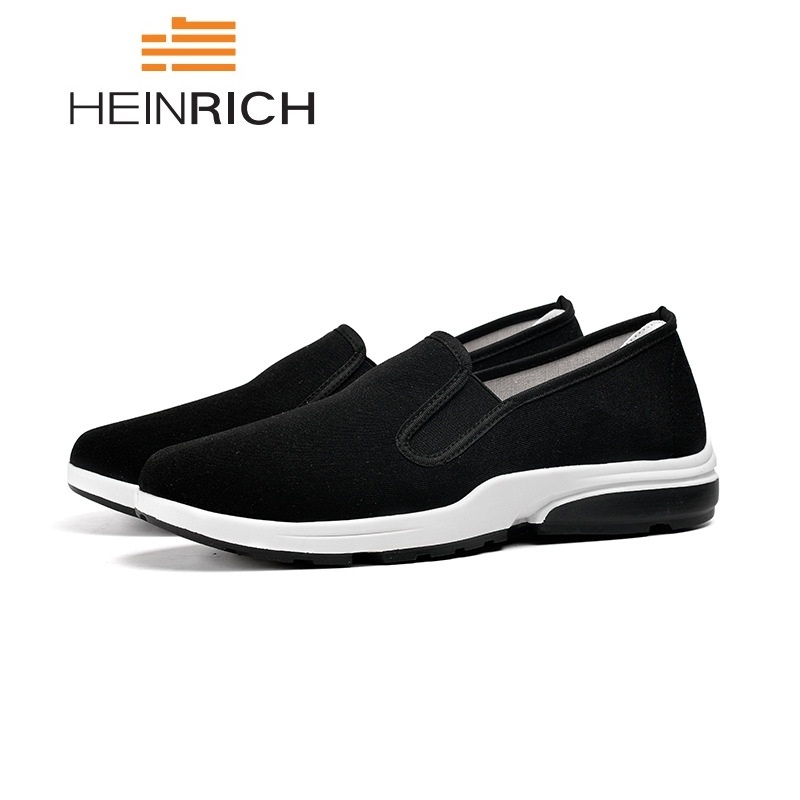HEINRICH Mens Casual Shoes Hot Sale Breathable Shoes Tenis Masculino Adulto Slip-On Men Shoes Footwear Men Loafers Schuhe Herren