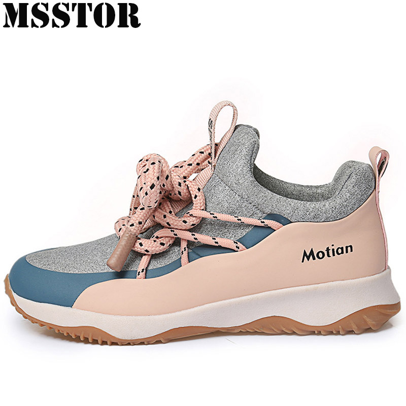 MSSTOR Spring 2018 Women Running Shoes Brand Breathable Sports Run Women Sneakers Outdoor Athletic Walking Sport Shoes For Women msstor women running shoes breathable mesh woman brand sports run outdoor athletic womens sneakers walking sport shoes for women