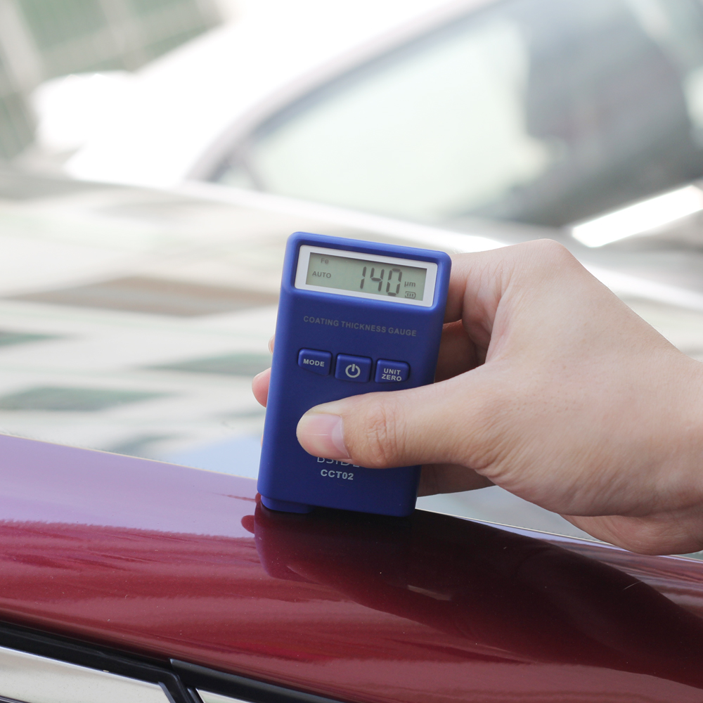 Mini Digital Thickness Gauge Coating Painting Thickness Tester Meter LCD measure car paint coating thickness benetech digital coating thickness gauge 0 1 8mm 0 71 0mil gm200 car painting paint thickness meter car diagnostic tool