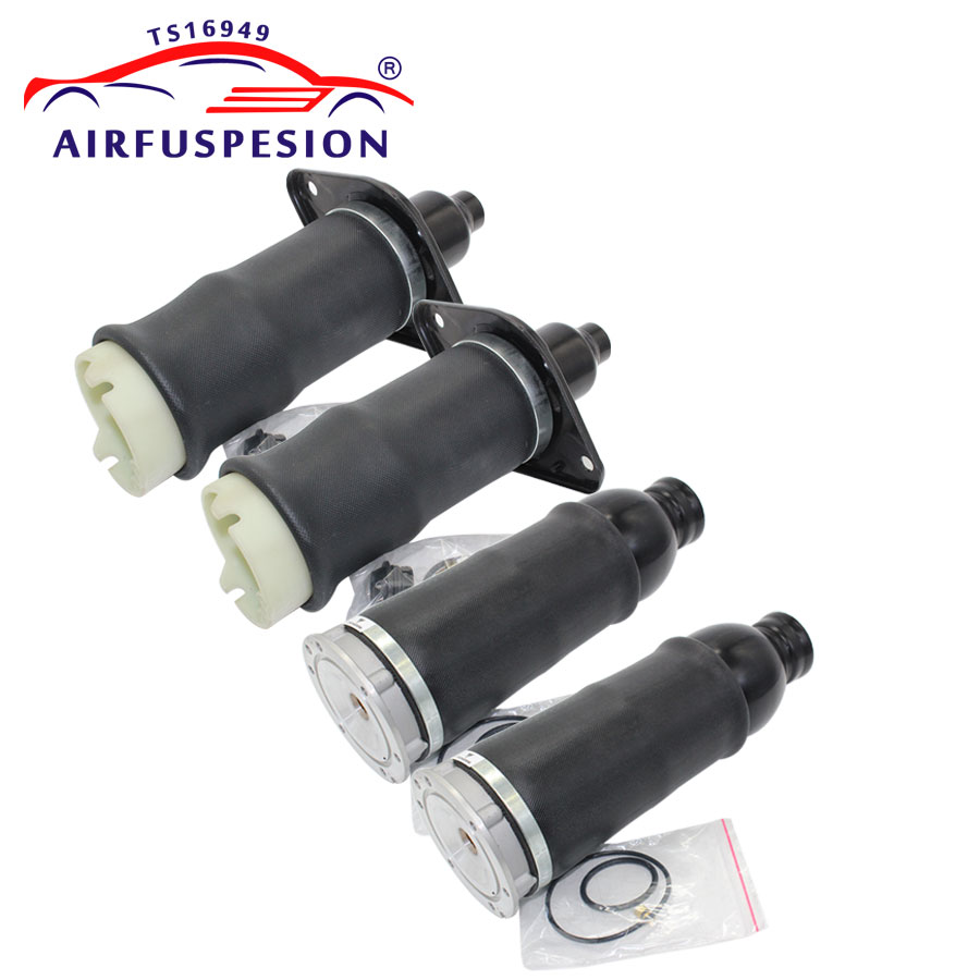 For Audi A6 4B C5 Allroad Front Rear Air pneumatic Suspension Spring Bag 4Z7413031A 4Z7616051B 4Z7616051D
