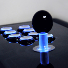 Bloodsport Game joystick with LED luminous rocker button USB,PC,P S 3 Atradius Arcade rocker with fighting Games Consoles