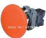 XB2 BS642 XB2-BS642 красный гриб головка перейти к выпуску 1 N/C отложным воротником перезагрузка, экстренная остановка кнопка блокировки переключатель 60 мм