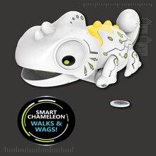 LeadingStar Remote Control Chameleon 2.4GHz Pet Intelligent Toy Robot For Children Kids Birthday Gift Funny Toy RC Animals