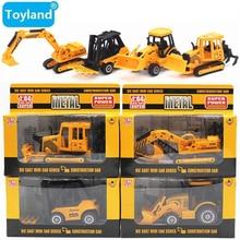 excavator/machineshop Mainan DIY mobil/Model