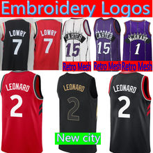 New 2 Kawhi Leonard 7 Kyle Lowry JERSEY Top 15 Vince Carter 1 Tracy McGrady  Retro Mesh BASKETBALL JERSEYS 45b836cf0