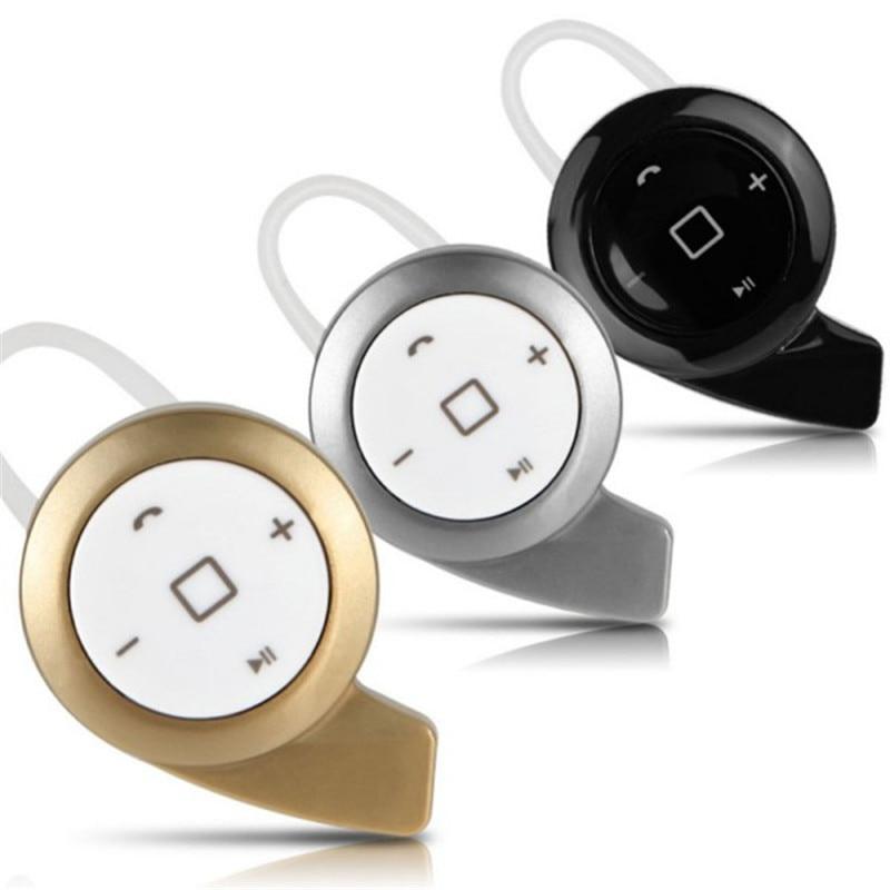 Mini Snail Bluetooth 4.0 Wireless Stereo Headset Earphone For iPhone Samsung