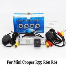 Для Mini Cooper Clubman Countryman Paceman Clubvan R55 R60 R61/проводной Или Беспроводной Авто Заднего вида Камера/HD Автомобильный Поддержка Камеры