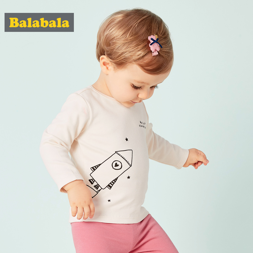 Tshirt Flower Baby-Girls Top-Tees Kids Clothes Long-Sleeve Infant Autumn Cotton Fashion