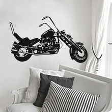 Free shipping diy Motorcycle Vinyl Decal Wall Decor Home Sticker Removable Art PVC Stickers Decoration