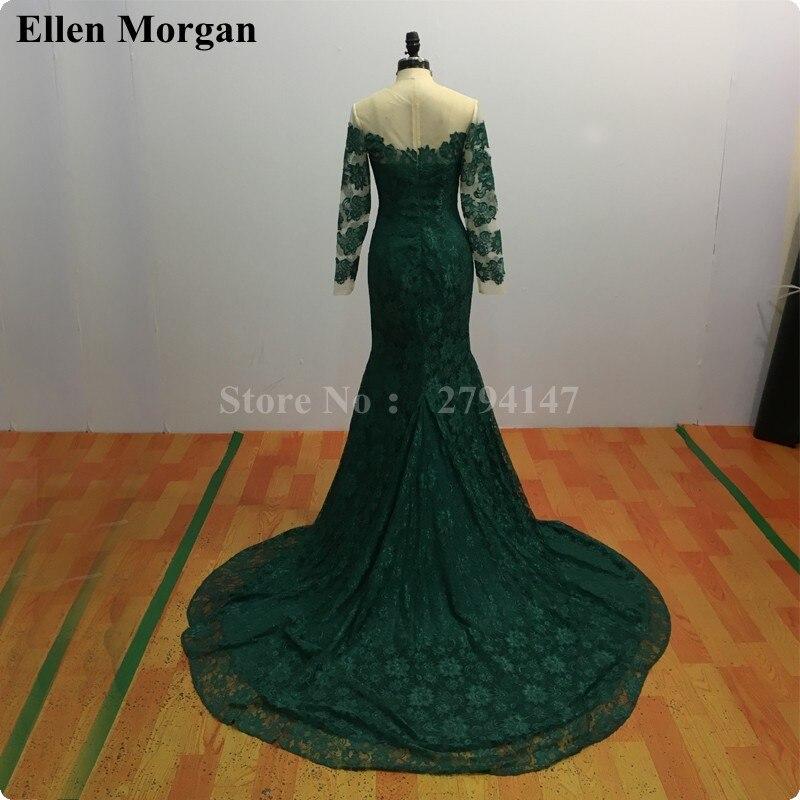 Saudi Arabia Evening Dresses For Women Wear Abiye Gece Elbisesi Dubai Moroccan Kaftan Long Sleeve Mermaid Lace Formal Gowns 2019 Weddings & Events