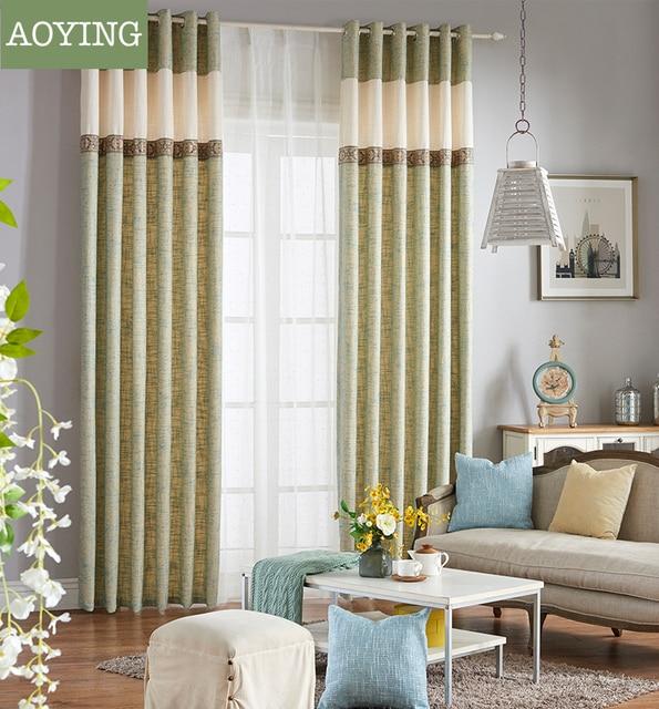 Awesome Modern Minimalist Fresh Linen Printed Cartoon Linen Semi Shade Living Room  Adult Kids Bedroom Window