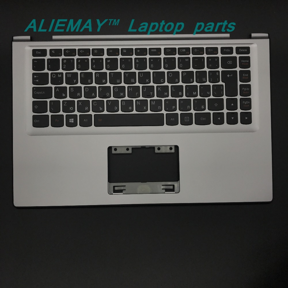 Laptop parts for LENOVO YOGA 2 13 Yoga2-13  SILVER Palmrest  with Backlit BULGARIA Keyboard 90205159 new original lenovo yoga 4 pro yoga900 palmrest keyboard with backlit bezel cover touchpad cable