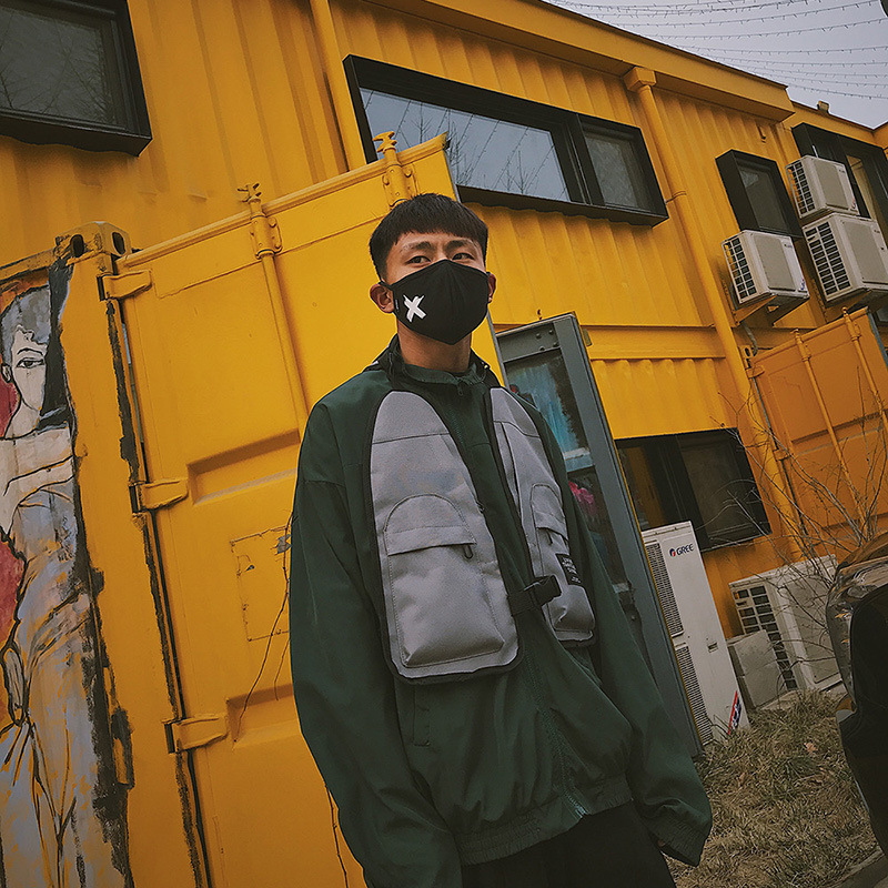 2019 hip-hop west street ins hot stijl Borst Rig Militaire tactische borst tas Functionele pakket prechest zak vest zak