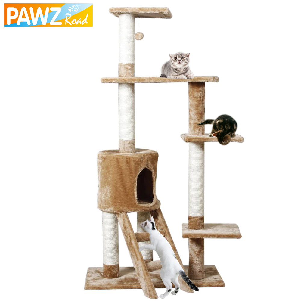 H150cm Cat Toy Scratching Match With Home Decoration Fast