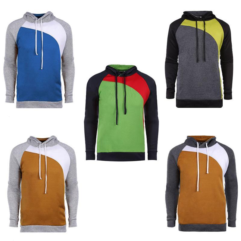 Men's Sweatshirt Autumn Spring Casual Pullovers Male Long Sleeve Hooded Cotton Soft Casual Sweatshirt Men's Winter Outwear