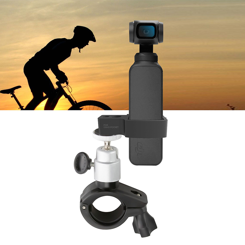 DJI OSMO POCKET Acessories Bicycle Mount Bracket Holder Bike Clamp Mount Stand for DJI OSMO POCKET Mini Camera GimbalDJI OSMO POCKET Acessories Bicycle Mount Bracket Holder Bike Clamp Mount Stand for DJI OSMO POCKET Mini Camera Gimbal
