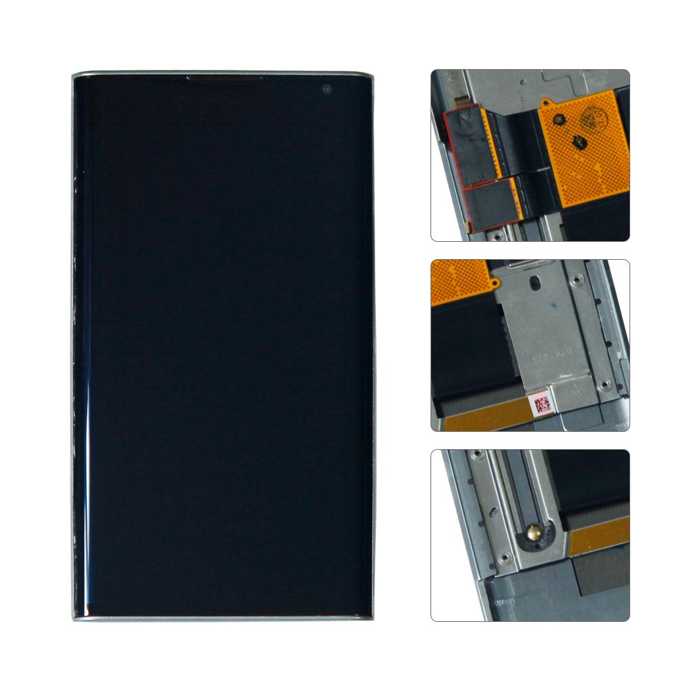 For BlackBerry Priv STV100-1/2/3/4 Lcd Display Touch Screen Digitizer Assembly With Frame(China)