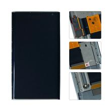 For BlackBerry Priv STV100 1/2/3/4 Lcd Display Touch Screen Digitizer Assembly With Frame