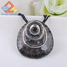 Винтажное ювелирное ожерелье с подвеской Горячая трехмерная