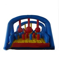 Outdoor Sports Toys Inflatable Fun City Inflatable Playground For Competition